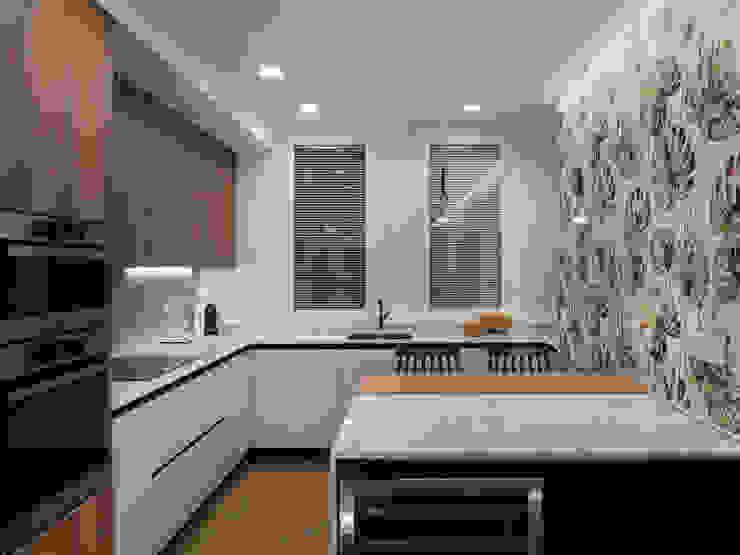 YOLANDA GUTIERREZ ESTUDIO DE ILUMINACIÓN Modern style kitchen