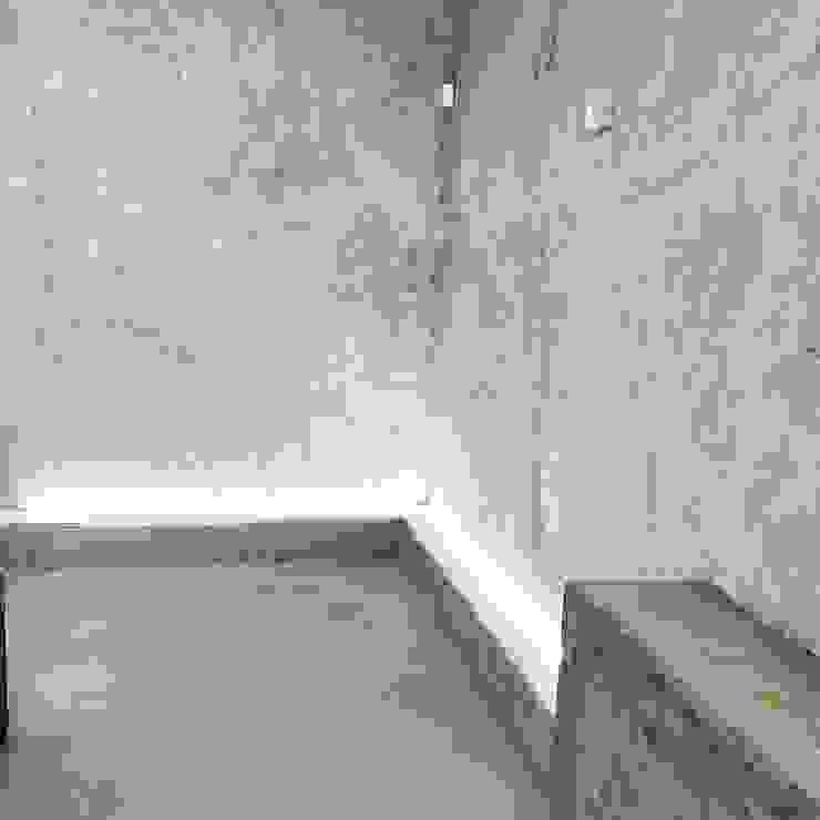 Dettaglio decorazione Led EDIL MAVI costruzioni Pareti & Pavimenti in stile moderno