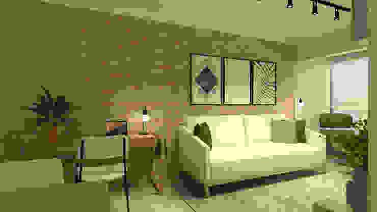 Sala Daniela Hescheles Arquitetura Salas de estar modernas