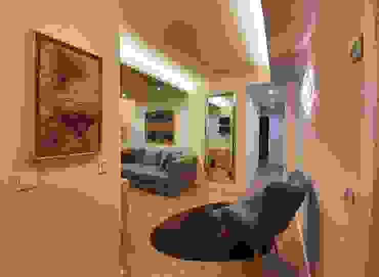 GRUPO CECATHER | FOLIO RADIANTE - SUELO RADIANTE Ruang Keluarga Modern Wood effect
