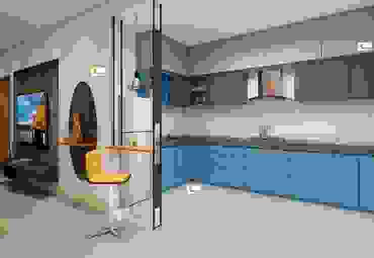 Flat interior work Monoceros Interarch Solutions Kitchen units