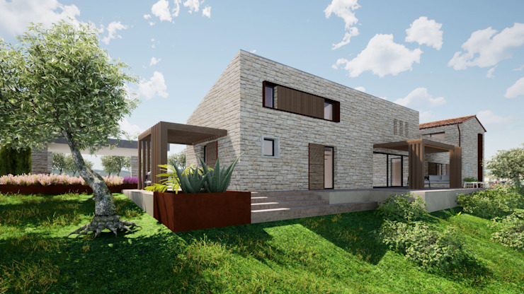 GIAN MARCO CANNAVICCI ARCHITETTO Modern Houses