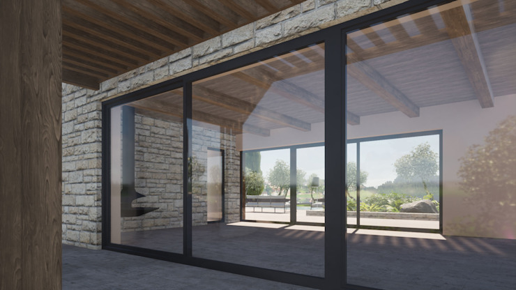 GIAN MARCO CANNAVICCI ARCHITETTO Modern Conservatory