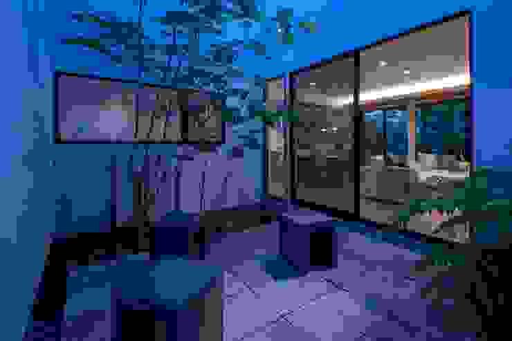 有限会社アルキプラス建築事務所 Jardines de estilo asiático