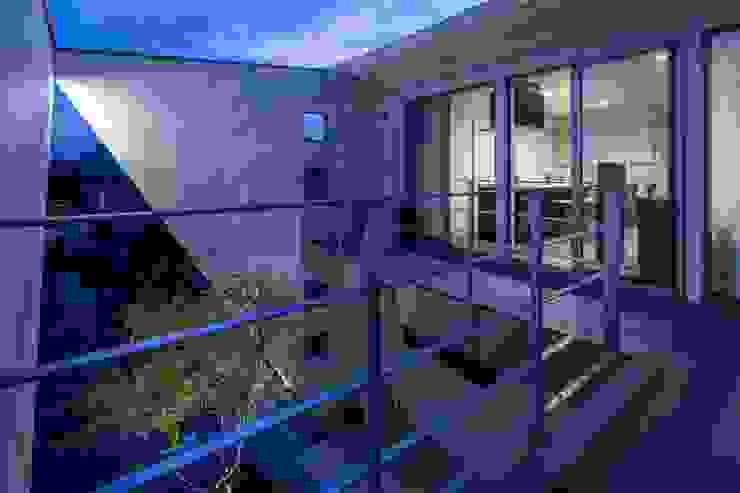 有限会社アルキプラス建築事務所 Minimalist style garden