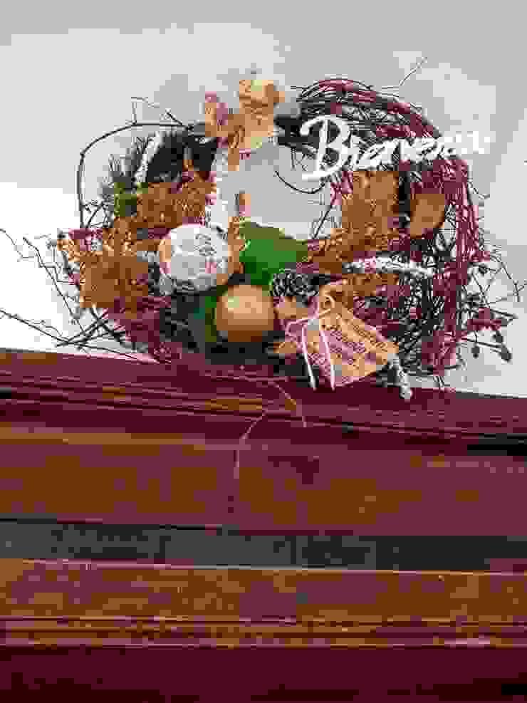 Decoraciones y Manualidades Coshita Portes d'entrée Bois d'ingénierie Effet bois