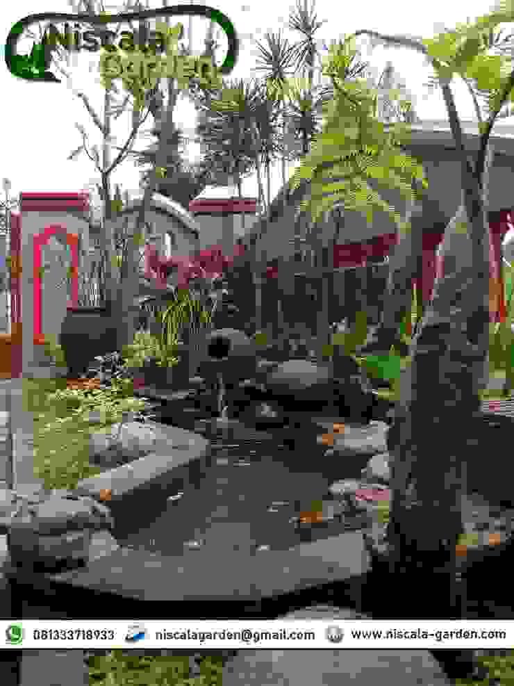 Desain Kolam Koi Klasik NISCALA GARDEN   Tukang Taman Surabaya Rumah Sakit Klasik