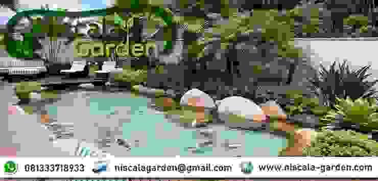 Desain Kolam Koi Klasik NISCALA GARDEN   Tukang Taman Surabaya Hotel Klasik
