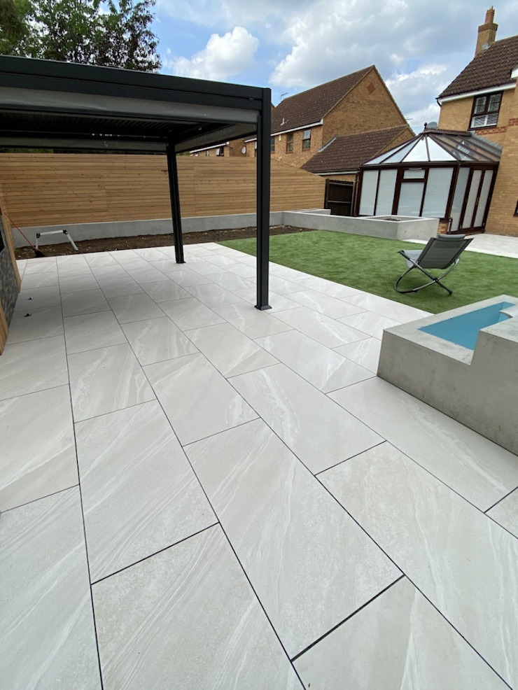 Garden Paving by Royale Stones Royale Stones Limited Garden Shed