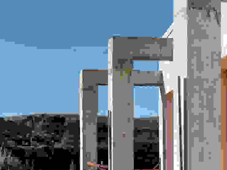 Vista DETTAGLIO TERRAZZO della proprietà in costruzione, VENDUTA PROPERTY TALES Villa