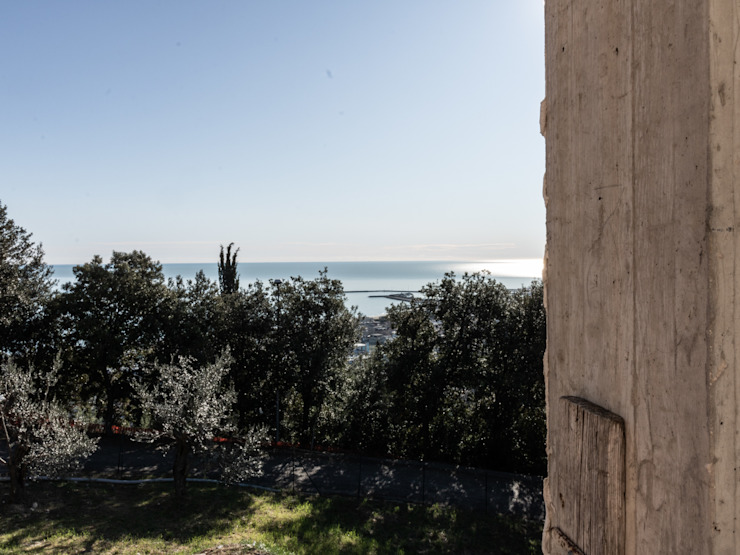 Vista PANORAMA DAL TERRAZZO della proprietà in costruzione, VENDUTA PROPERTY TALES Villa