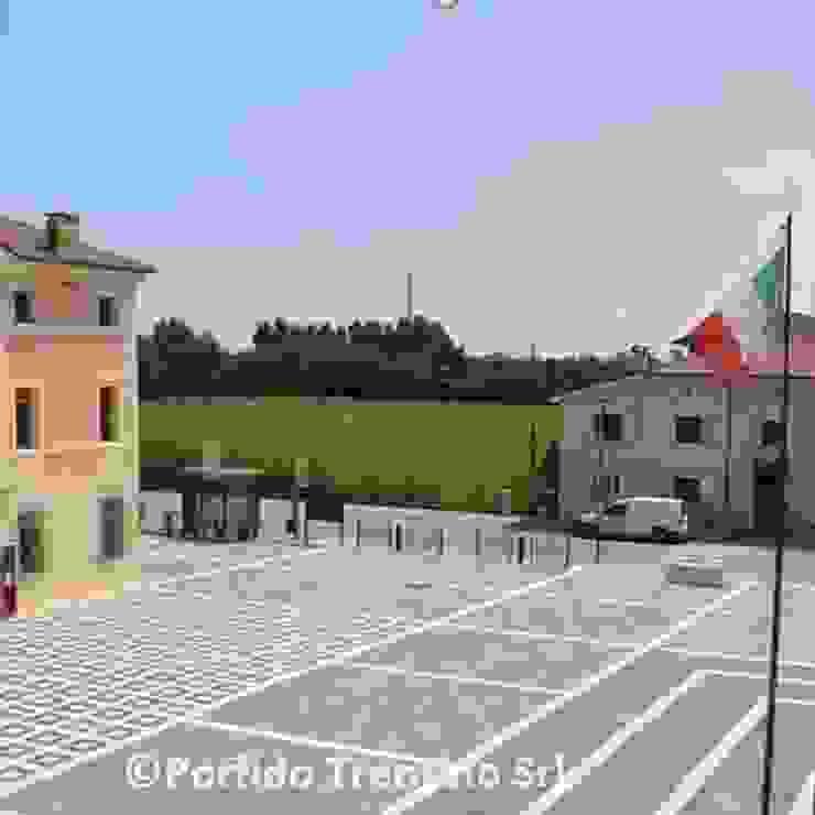 PORFIDO TRENTINO SRL Museos de estilo mediterráneo Piedra Gris