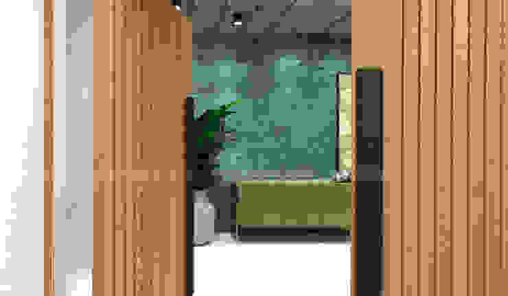 Luxury Abode Kajal Agrawal Interior Design Modern corridor, hallway & stairs