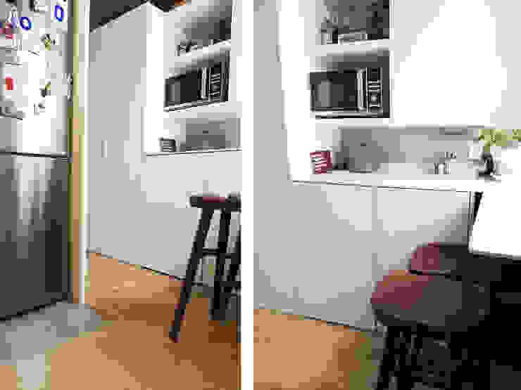 Mueble de entrada/cocina Simona Garufi Cocinas de estilo moderno