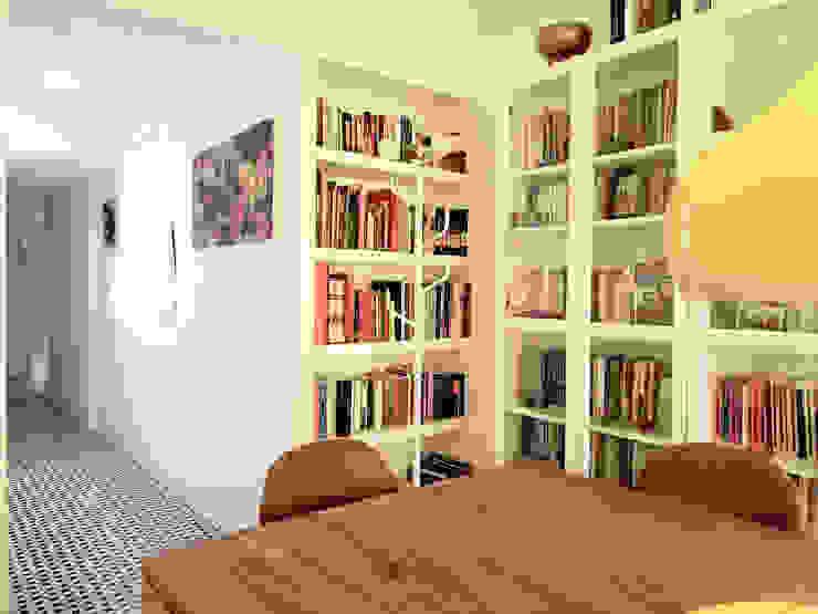 Comedor Simona Garufi Estudios y despachos de estilo moderno