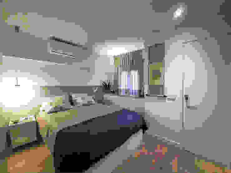 Habitación principal Simona Garufi Dormitorios de estilo moderno