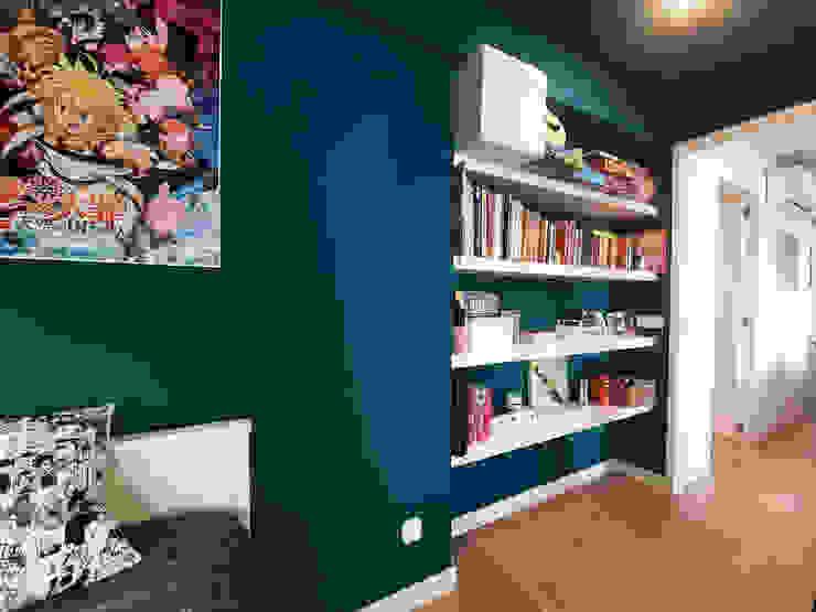 Habitación secundaria Simona Garufi Dormitorios infantiles de estilo moderno
