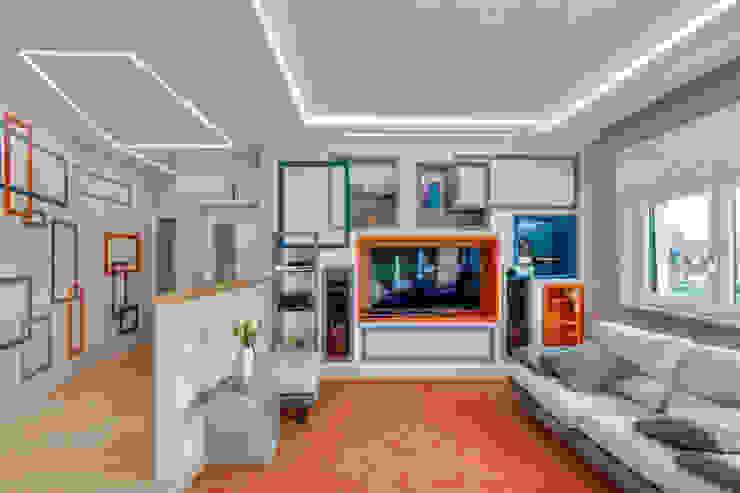 Angela Archinà Progettazione & Interior Design Вітальня