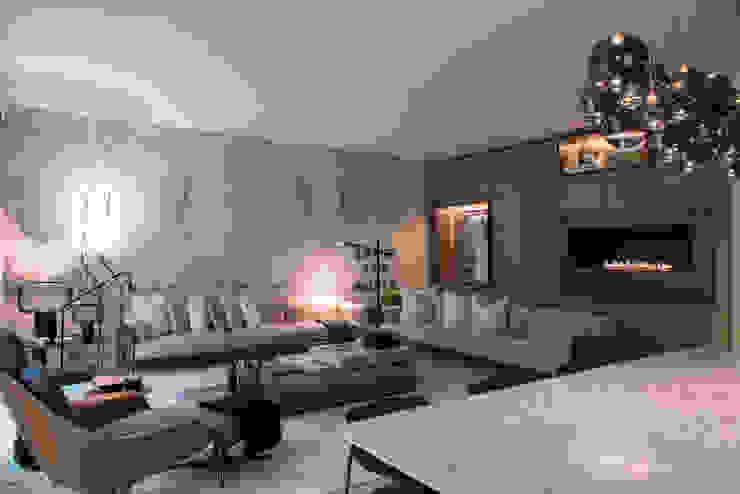 Sala de Estar Atelier Renata Santos Machado Salas de estar modernas