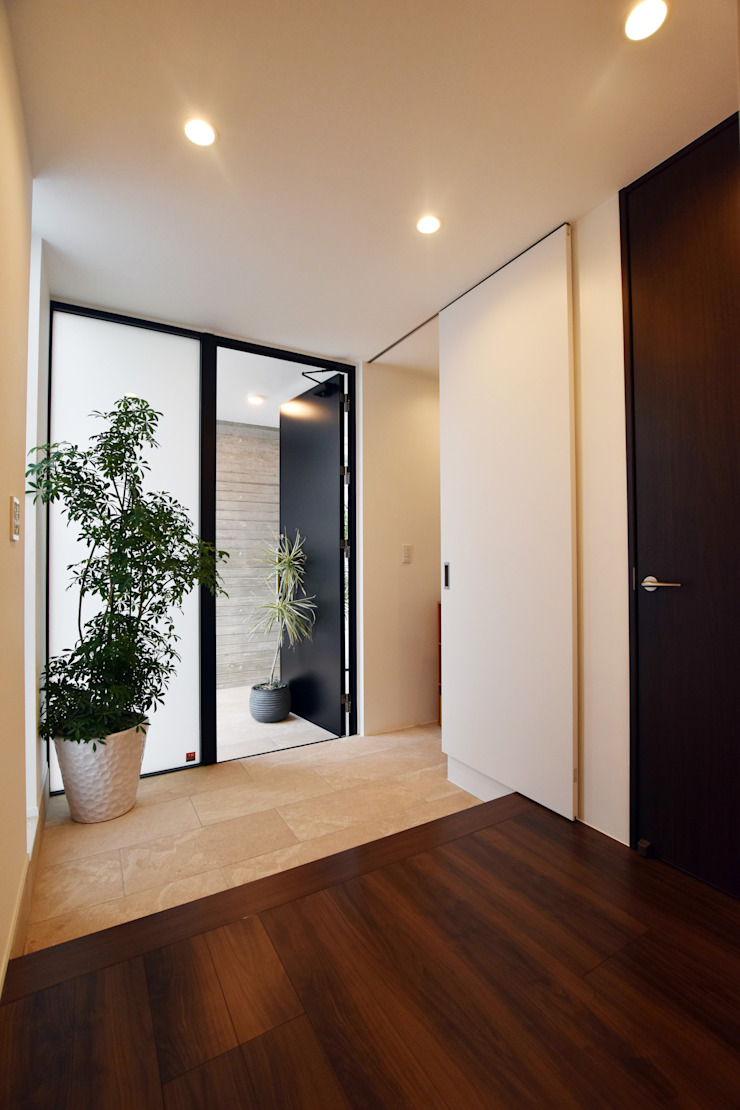 玄関ホール Style Create モダンスタイルの 玄関&廊下&階段