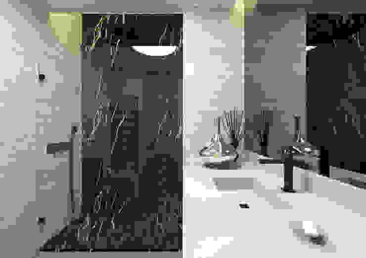 ARCHDESIGN LX Minimalist bathroom Marble Black