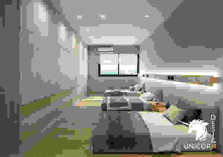 Unicorn Design Kleines Schlafzimmer