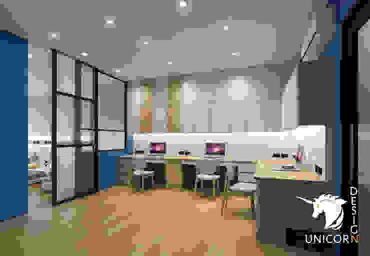 Unicorn Design Ausgefallene Arbeitszimmer