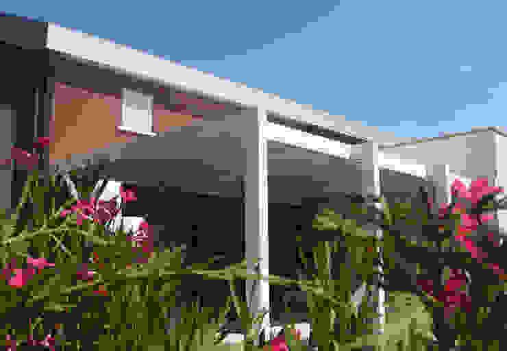 unica living design Lean-to roof Aluminium/Zinc White