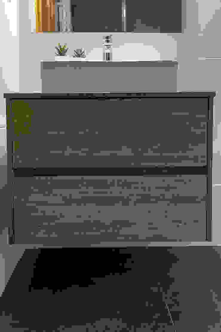 Decor-in, Lda Moderne Badezimmer Keramik Grau