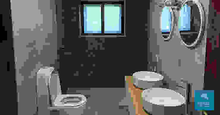 Obr&Lar - Remodelação de Interiores Modern Bathroom Ceramic Grey
