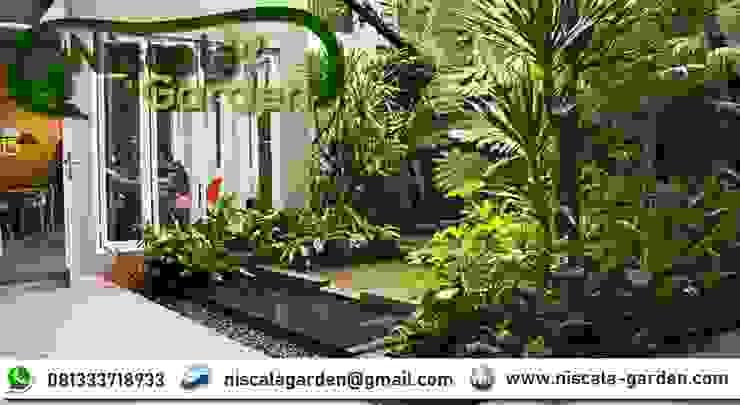 Tukang Kolam Koi Surabaya NISCALA GARDEN | Tukang Taman Surabaya Taman Minimalis