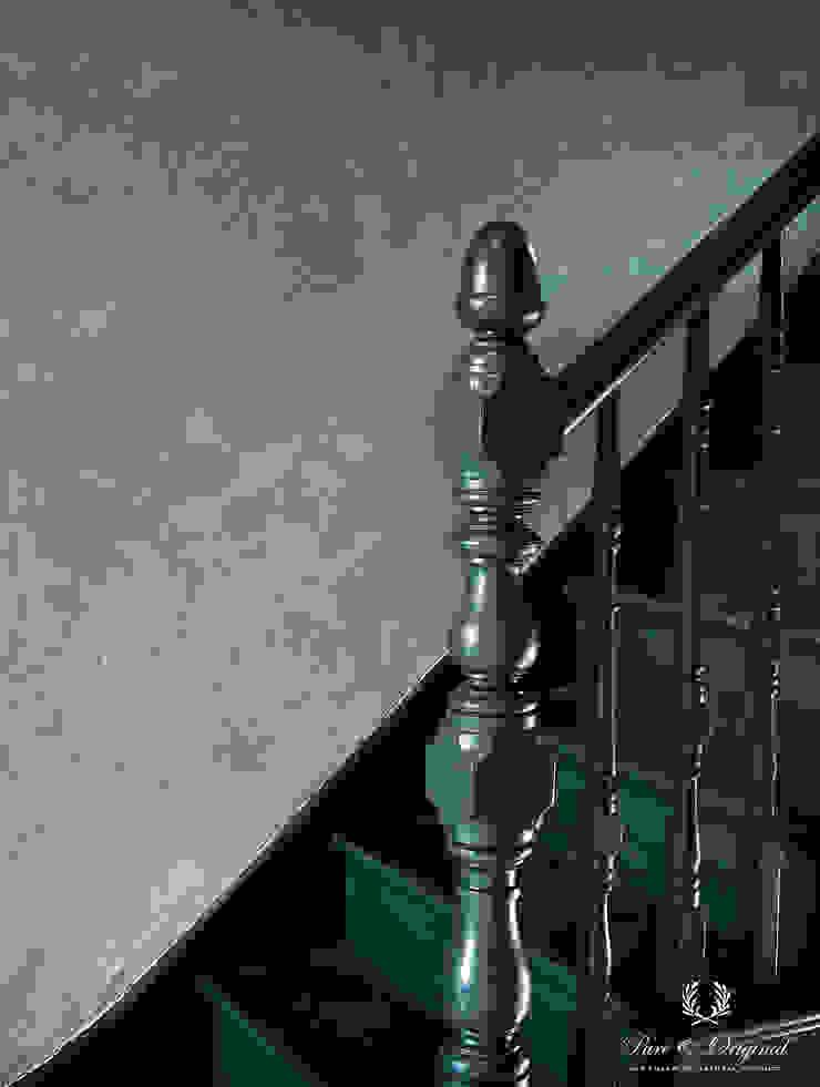 Pure & Original Couloir, entrée, escaliersEscaliers Vert