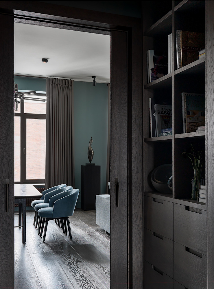 Дизайн бюро Татьяны Алениной Modern Corridor, Hallway and Staircase