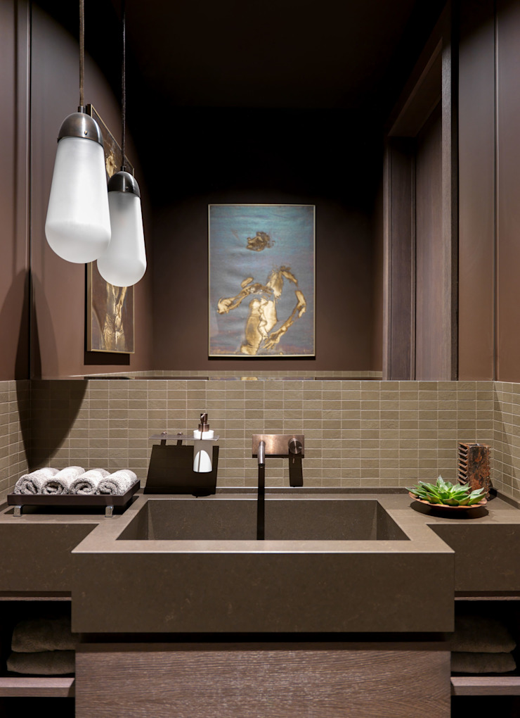 Дизайн бюро Татьяны Алениной Modern bathroom