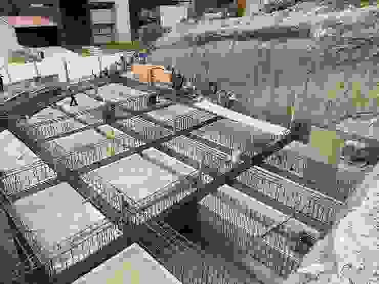 CASA LA HERRADURA ConstruTech & Technology BIM Casas minimalistas Concreto