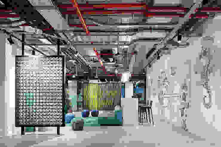 Офис Avito tech QPRO Офисные помещения в стиле минимализм