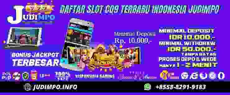 Link Daftar Agen Slot Cq9 Terbaru Mudah Menang Judimpo Homify