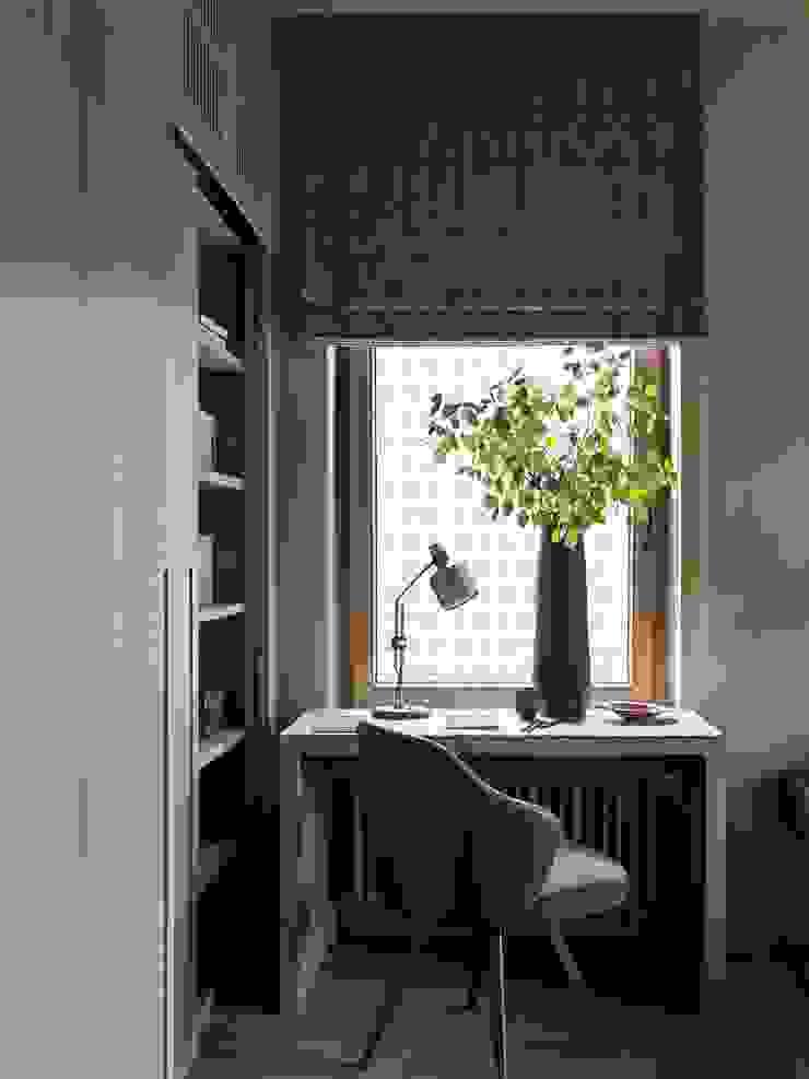 Дизайн бюро Татьяны Алениной Modern style bedroom Beige