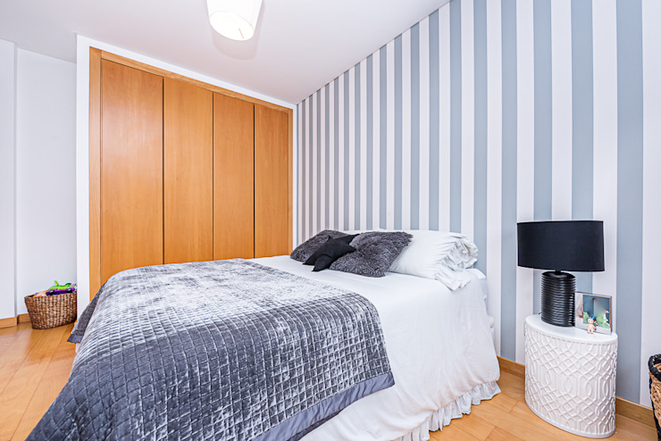 Janine Martins - Consultora Imobiliária | Arquitecta | Home Staging Modern style bedroom