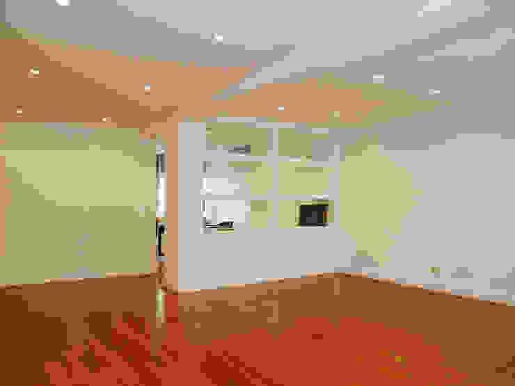 Sala de Estar ARCHDESIGN LX Salas de estar modernas MDF Branco
