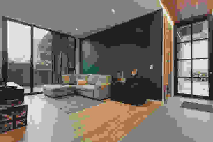 Adrede Diseño Modern study/office Blue