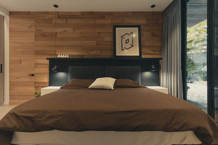Adrede Diseño Classic style bedroom Wood Brown