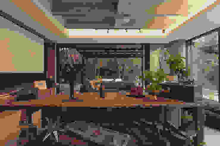 Adrede Diseño Living room Wood Brown