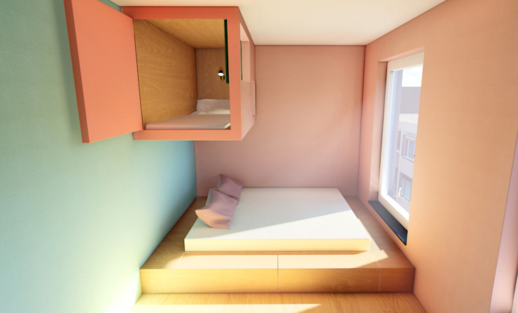 Flyingbox & Familienschlafwisee Habitiny Moderne Schlafzimmer