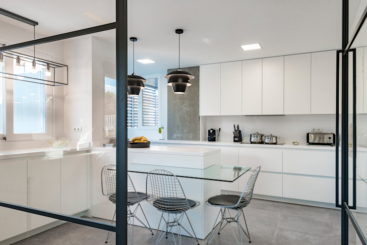 NEXUM ADAPTA SL Built-in kitchens White