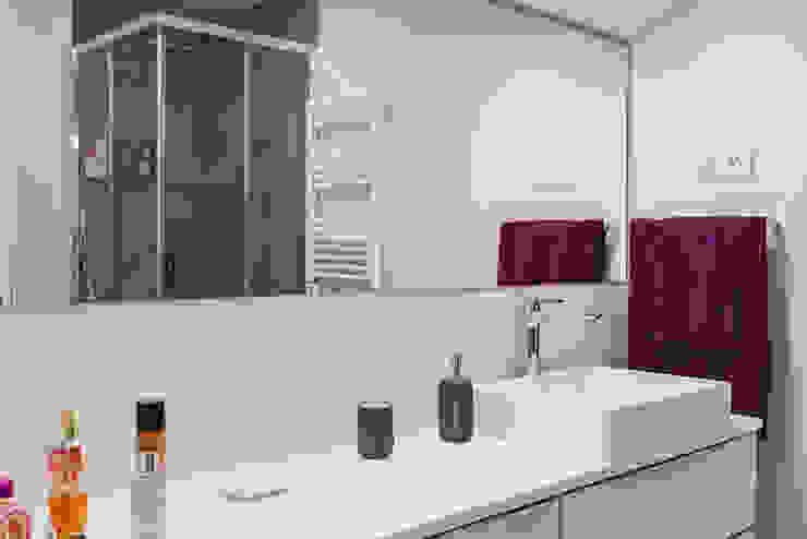 NEXUM ADAPTA SL Minimalist bathroom Ceramic Grey