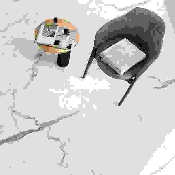 FHM Fliesenhaus München GmbH Floors Tiles White