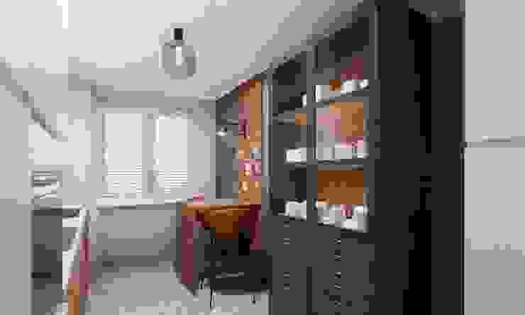 Küche im Industrie-Stil Innenarchitektur Federleicht Moderne Küchen Grau