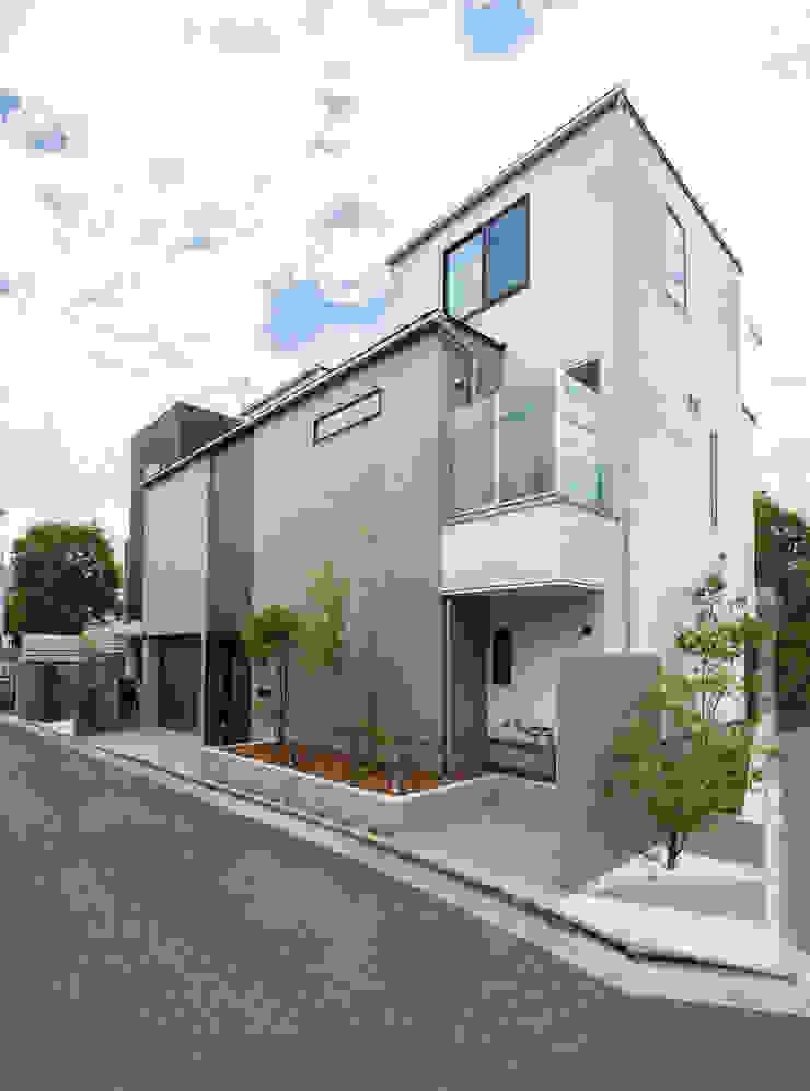 TERAJIMA ARCHITECTS/テラジマアーキテクツ Будинки Білий