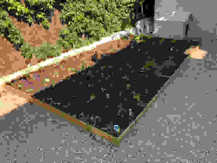Viviendo Unifamiliar Aravaca TecGarden Jardines de estilo mediterráneo
